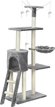 Когтеточка для кота-XL с игрушками FUNFIT HOME&OFFICE Марка Европы