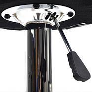 Барний стілець, кухонний Хокер Vecotti Hoker 022B чорний, фото 6