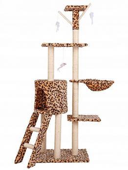 Домики с когтеточками для котов
