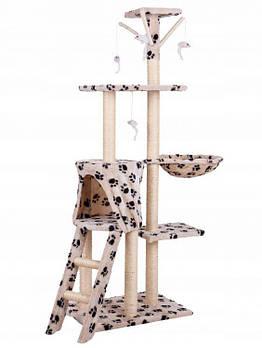 Дралка для кота домик 138cm xl DRAPAK01 LEO BEIGE Марка Европы
