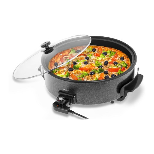 Сковорода для пиццы - электрическая - 1400ВТ Bredeco