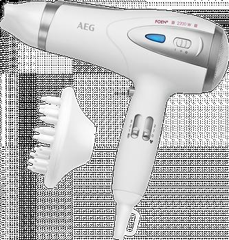 Фен AEG HTD 5584 2200Вт Белый с диффузором Марка Европы