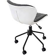 Кресло офисное Vecotti Moderna серо-белый, фото 4