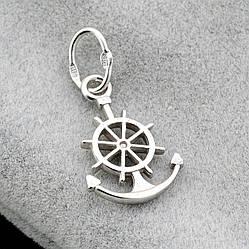 Серебряный кулон Юнга размер 27х14 мм вес 1.34 г