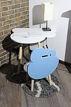 Сучасна дитячі меблі стіл і стільчик Сет Modini (Місяць)