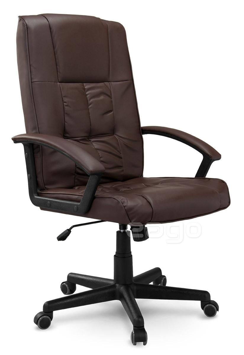 Кресло стул офисный кожаный Sofotel EG-234 коричневый