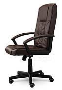 Кресло стул офисный кожаный Sofotel EG-234 коричневый, фото 4
