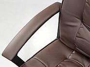 Кресло стул офисный кожаный Sofotel EG-234 коричневый, фото 10