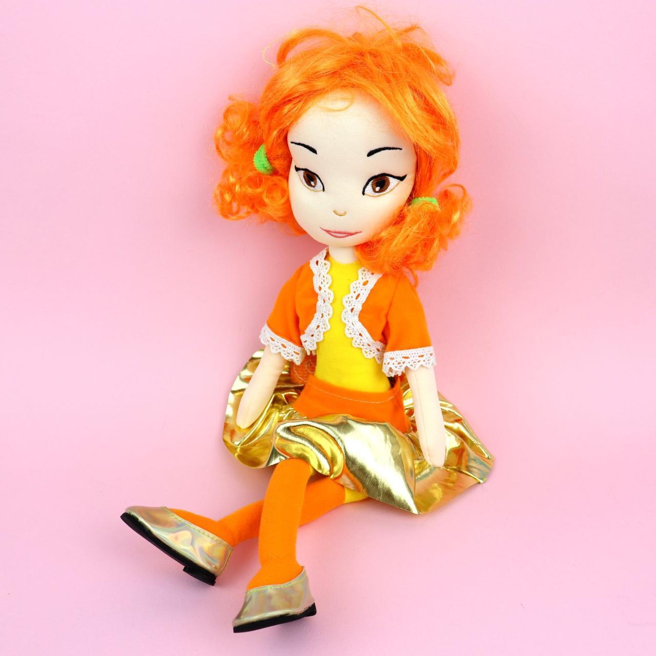 Мягкая игрушка кукла Аленка Сказочный патруль 50 см тм Копиця