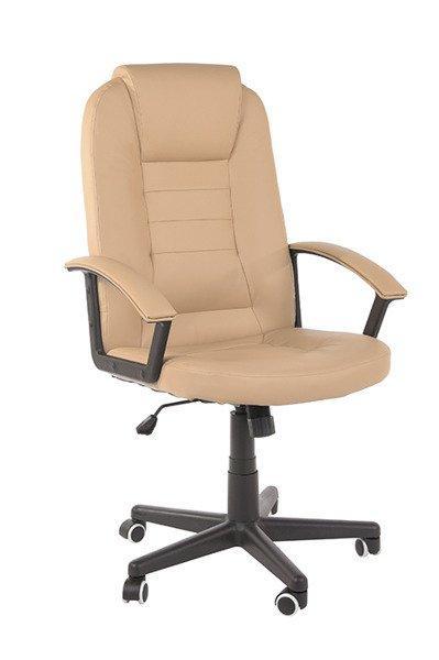 Крісло компьюторное GIOVANI jasny brąz + gratis !