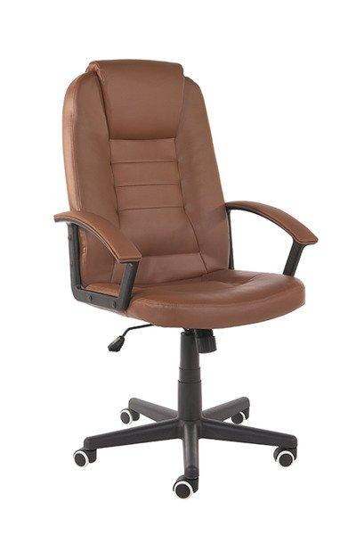 Кресло компьюторное GIOVANI brązowy+ gratis !