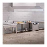 Рабочий стол - 60 х 60 см - 150 кг - нержавеющая сталь - громкие слова Royal Catering, фото 4
