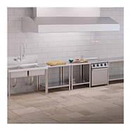 Рабочий стол - 80 см x 60 см - 190 кг - нержавеющая сталь Royal Catering, фото 4
