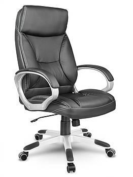 Кресло стул офисный кожаный Sofotel EG-223 черный Марка Европы