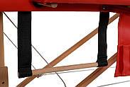 Стіл, ліжко для масажу 2 секційні дерев'яні BODYFIT, фото 2