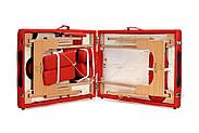 Стіл, ліжко для масажу 2 секційні дерев'яні BODYFIT, фото 7