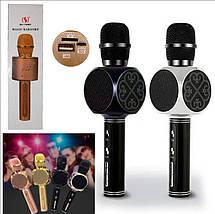 Мікрофон караоке YS-63 2 в 1 - бездротової Bluetooth мікрофон - портативна колонка зі слотом USB + TF card, фото 2