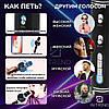 Мікрофон караоке YS-63 2 в 1 - бездротової Bluetooth мікрофон - портативна колонка зі слотом USB + TF card, фото 4