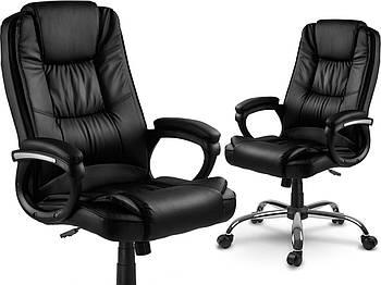 Офисное кресло Sofotel Porto черное Марка Европы