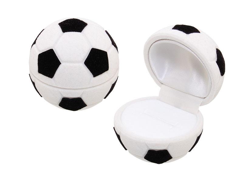 Футляр мяч большой, для кольца-серег, размер 5,5*5,5