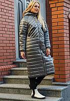 Молодежное пальто оверсайз Viola Размеры 44 - 48
