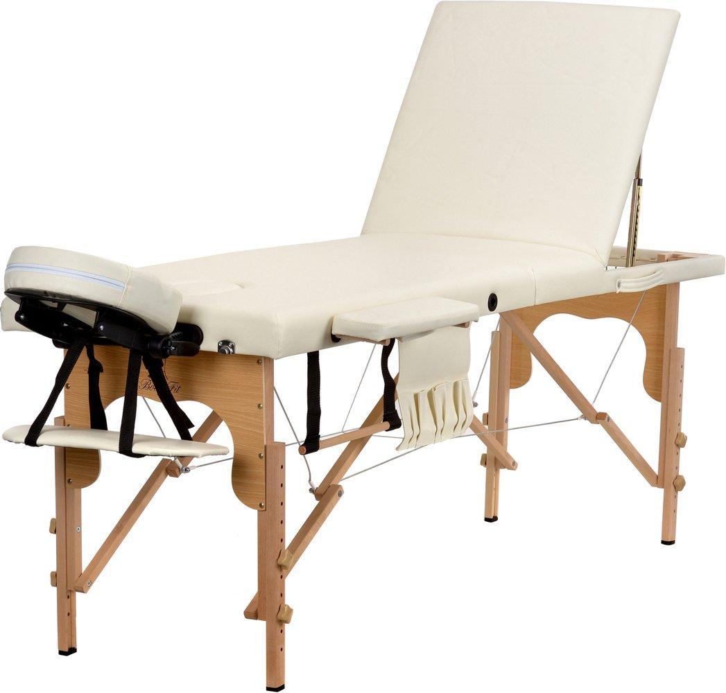 Стіл, ліжко для масажу 3 секційні дерев'яні BODYFIT