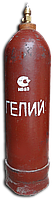 Гелий в баллоне 10 литров марка В заправка или обмен