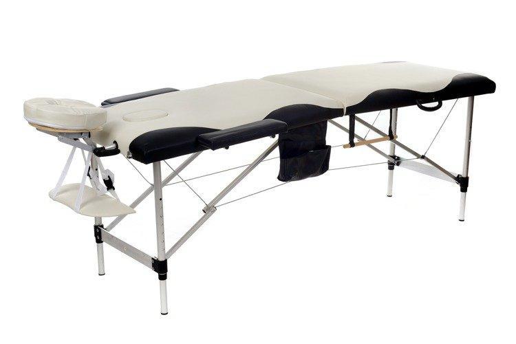 Масажная кровать 2 сегмента алюминий