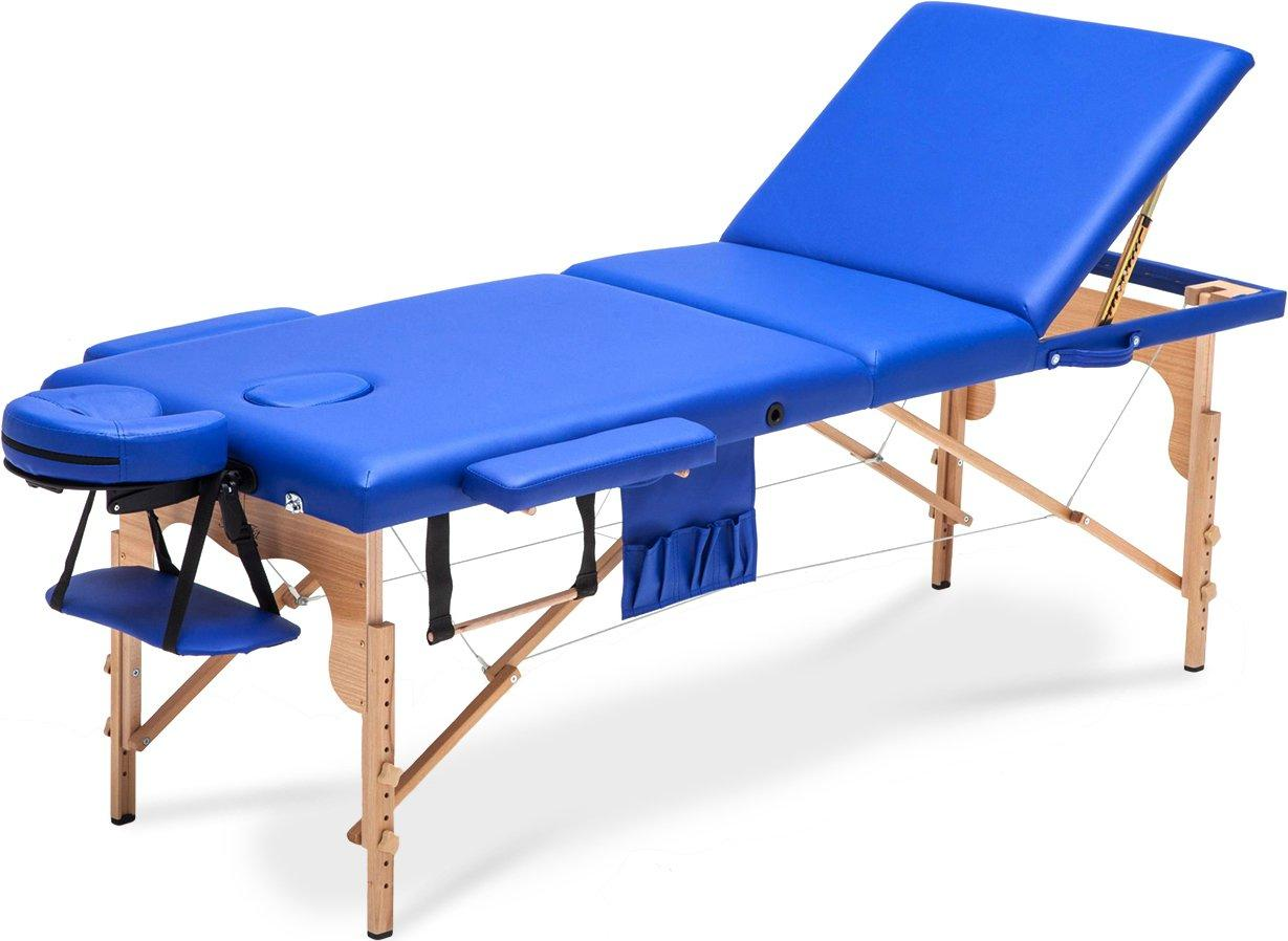 Стол, кровать для массажа 3 секционные деревянные XXL BODYFIT