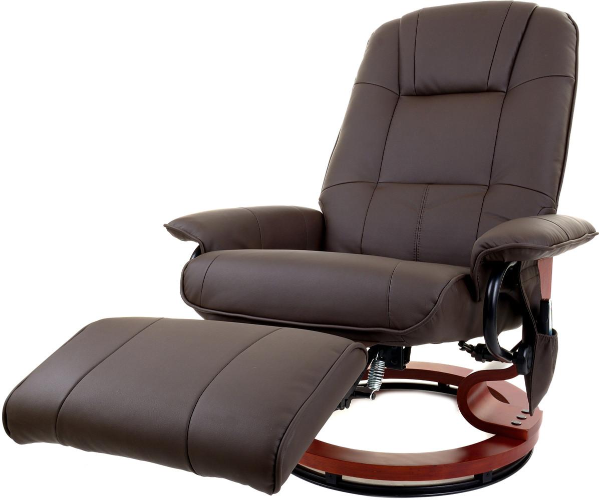 Кресло ТВ для отдыха с массажем, подогревом и подставкой для ног 2159 FUNFIT HOME&OFFICE