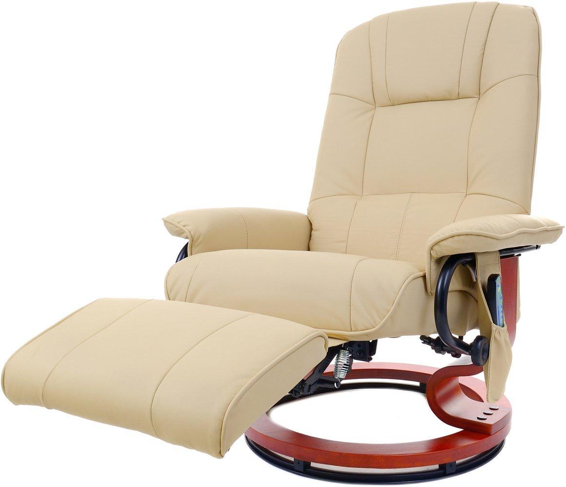 Кресло ТВ для отдыха с массажем, подогревом и подставкой для ног 2160 FUNFIT HOME&OFFICE