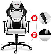 Игровое кресло HUZARO FORCE 7.3 WHITE, фото 7