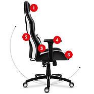 Игровое кресло HUZARO FORCE 7.3 WHITE, фото 9