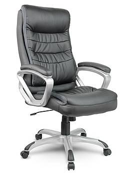 Кресло стул офисный кожаный Sofotel EG-226 черный Марка Европы