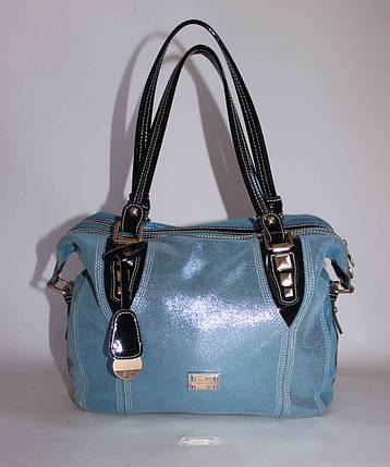 Женская кожаная сумочка Velina Fabbiano 58123, фото 2