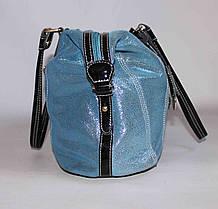 Женская кожаная сумочка Velina Fabbiano 58123, фото 3