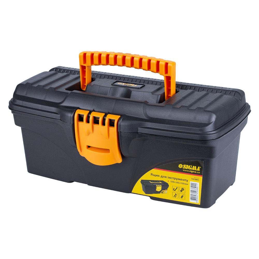 Ящик для инструмента 320×165×136мм SIGMA (7403891)