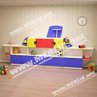Детские стенки для дошкольных учреждений