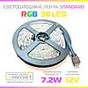 Светодиодная лента RGB оптом 30 диодов на метр без силикона