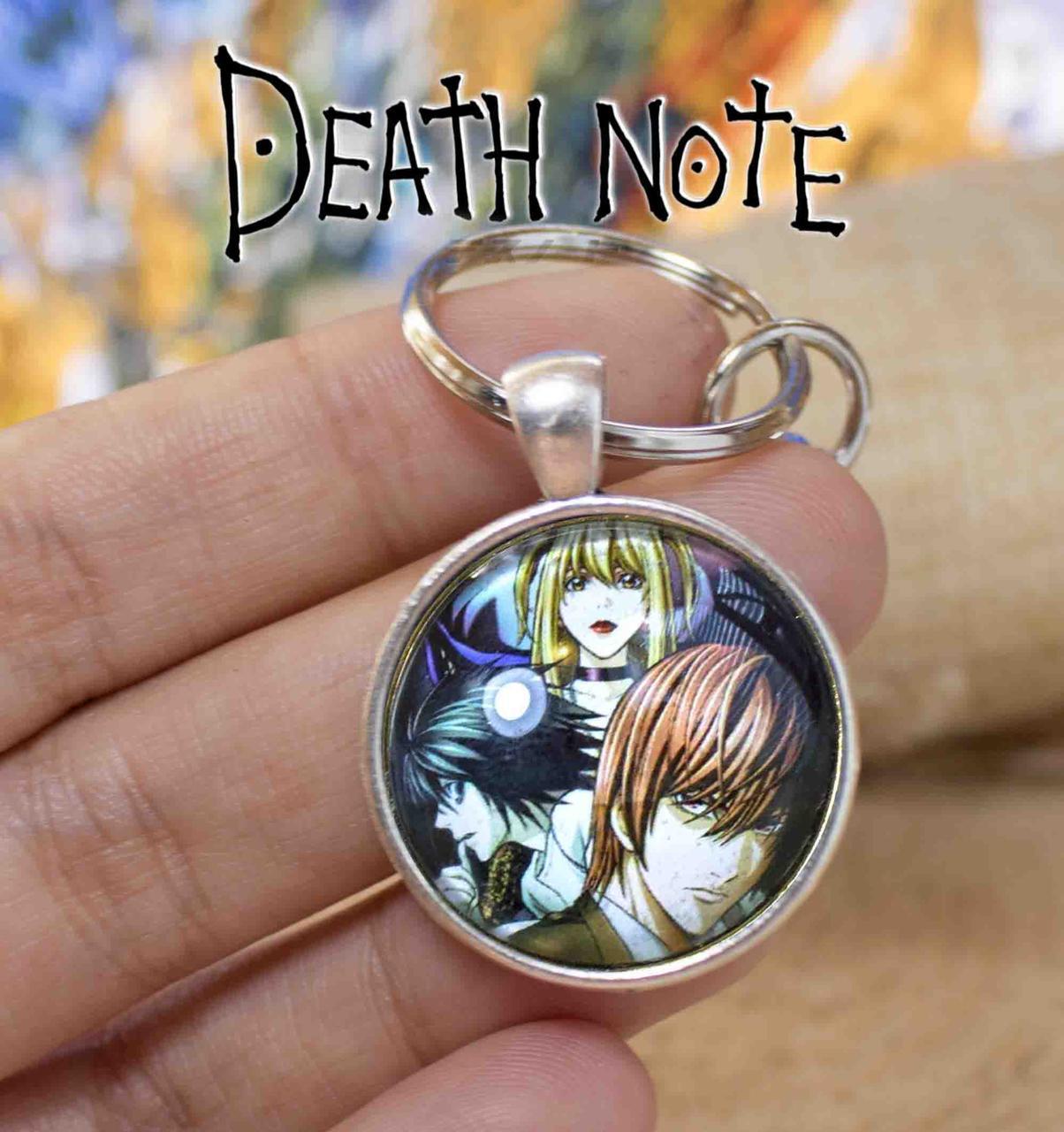 Брелок с изображением персонажей Тетрадь смерти Death note