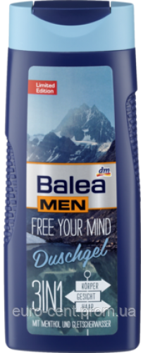 Гель для душа Balea Men Free your mind 3in1