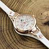 Часы G085расп пятна диаметр циферблата 3.2 см длина ремешка 16-20 см белый цвет позолота РО, фото 3