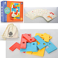 Гра 801-2 головоломка, 12дет., карточки, кор., 24,5-20,5-6,5см.