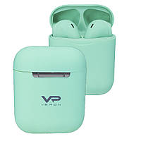Veron (VR-01) TWS Bluetooth Earphone — Colorful Sound, Green