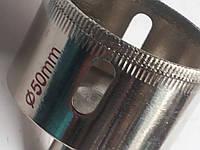Коронка с алмазным напылением по керамике, стеклу 50 мм