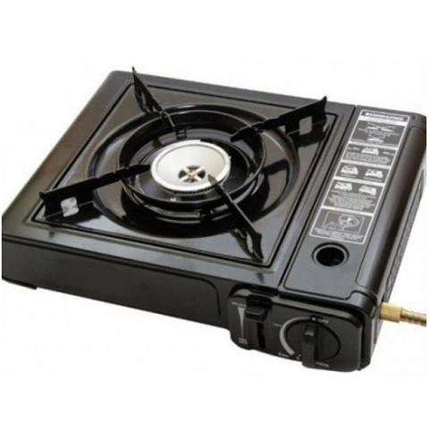 Туристическая Портативная газовая плита с адаптером горелка STENSON 34*8*26 см