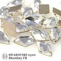 Кристаллы  swarovski для инкрустации арт2709.Цвет Crystal 10х6мм.Цена за 1шт