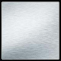 Панель декоративная для вентиляторов Вентс ФП 180 Плейн алюминий матовый