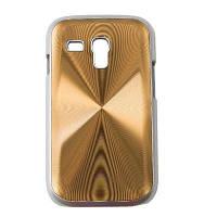 Чехол для моб. телефона Drobak для Samsung i8190 Galaxy S3 mini /Aluminium Panel/Brown (215228)