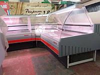 Холодильная витрина угловая Arneg (Италия)